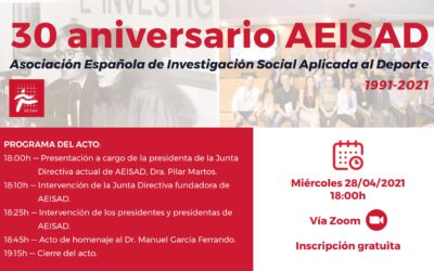 Encuentro – 30 aniversario AEISAD (1991-2021)